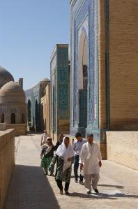 Shahi-Zinda mausoleums