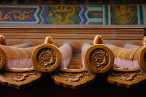 Roof tiles, Summer Palace
