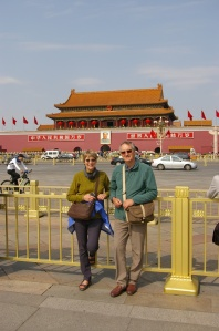 Gate of Heavenly Peace, the entrance to the Forbidden City