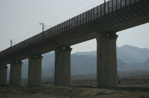 High-speed railway - under construction