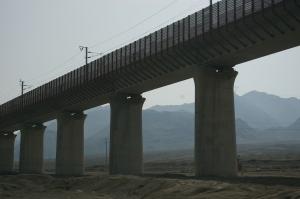High-speed railway - under construction
