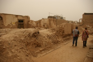Mud brick buildings are not allowed to be repaired