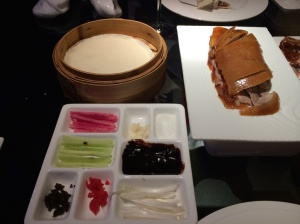 The works - Peking Duck and trimmings