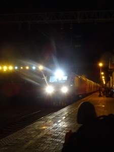The night train to Dunhuang
