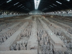 Pit One, the Terracotta Army