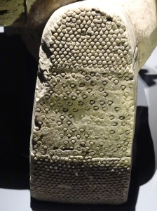 Sole of archer's boot, Terracotta Army