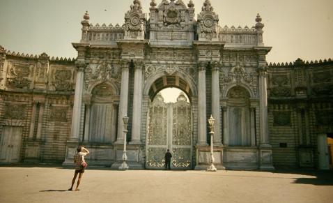 Dolmabache Palace Gate